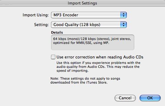 Compress audio to MP3 for transcription