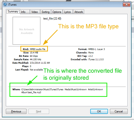 Compress audio to MP3 for transcription