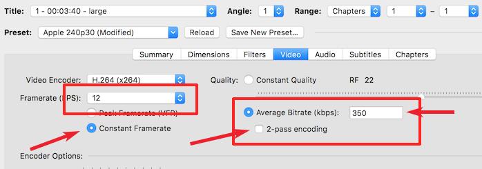 Adjust video settings